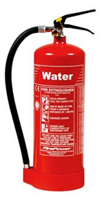 Water Fire Extinguisher 9L