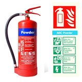 Powder Fire Exinguishers Telford